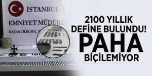2100 yıllık define bulundu! Paha biçilemiyor