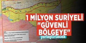 """1 milyon Suriyeli """"Güvenli Bölgeye"""" yerleştirilecek"""