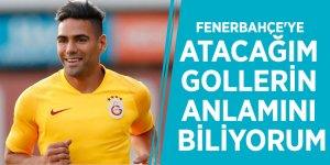 Falcao: Fenerbahçe'ye atacağım gollerin anlamını biliyorum