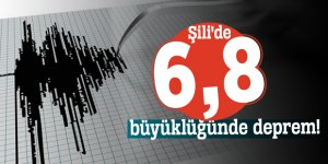 Şili'de 6,8 büyüklüğünde deprem!