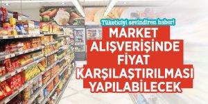 Tüketiciyi sevindiren haber! Market alışverişinde fiyat karşılaştırılması yapılabilecek
