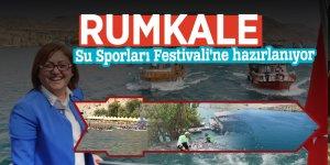Rumkale, Su Sporları Festivali'ne hazırlanıyor