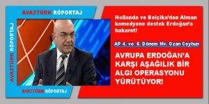 Ceyhun: Avrupa Erdoğan'a karşı aşağılık bir algı operasyonu yürütüyor!