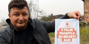 Genç muhtar 5 yıllık maaşını köyüne bağışladı