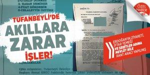 Tufanbeyli'de akıllara zarar işler! Erdoğan'ın ziyareti, İftar Yemeği ve Şehitler adına Mevlüt bile rant aracı yapılmış