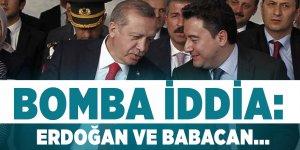 Bomba iddia: Cumhurbaşkanı Erdoğan Babacan ile...