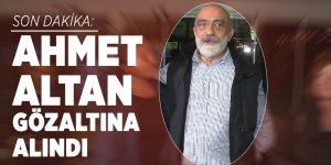 Son dakika: Ahmet Altan gözaltına alındı