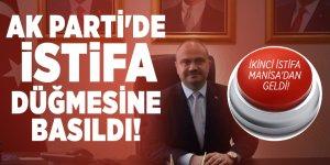 Son dakika: AK Parti'de istifa düğmesine basıldı! İkinci istifa Manisa'dan geldi!