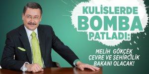 Kulislerde bomba patladı:  Melih Gökçek Çevre ve Şehircilik Bakanı olacak!