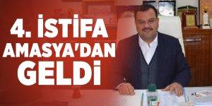 AK Parti'de 4. istifa haberi Amasya'dan geldi