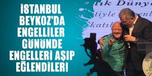 İstanbul Beykoz'da Engelliler Gününde engelleri aşıp eğlendiler!