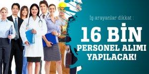 İş arayanlar dikkat : 16 bin sözleşmeli sağlık personel alımı yapılacak!