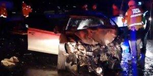 Edirne'de facia gibi kaza : Çok sayıda ölü ve yaralı var