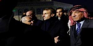 Macron ile İsrail polisi arasında gerginlik