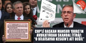 CHP'li Başkan Mansur Yavaş'ın avukatından SKANDAL İTİRAF: O bilgisayar Kesgin'e ait değil