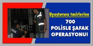 Tam 700 polisle şafak operasyonu!