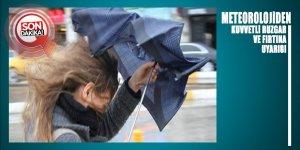 Meteorolojiden o bölgelere kuvvetli rüzgar ve fırtına uyarısı