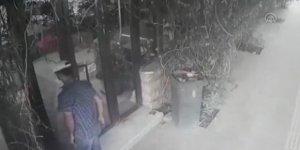 Mardin Kızıltepe'de yardım kolilerini çalıp yürüyüşünden kendini ele veren şüpheli tutuklandı