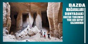 Şanlıurfa'daki Bazda Mağaraları kültür ve turizm aktivitelerine yeni bir boyut kazandırdı