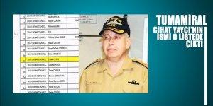 Tümamiral Cihat Yaycı'nın adı Üçok'un TSK'daki FETÖcüler listesinde çıktı