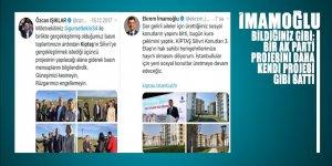 İmamoğlu bildiğiniz gibi: AK Parti projesinin hem de üçüncü ayağını bile kendi projesi gibi SATTI