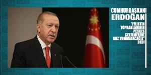 Erdoğan: Filistin topraklarının peşkeş çekilmesine göz yummayacağız