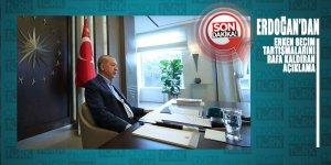 Cumhurbaşkanı Erdoğan'dan ERKEN SEÇİM ihtimallerini ortadan kaldıran açıklama