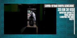 Covid-19 vaka sayısı dünya genelinde 5 milyon 750 bini geçerken ölenleri sayısı 355 bin 361 oldu