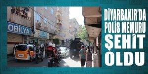 Diyarbakır'da polis memuru şehit oldu