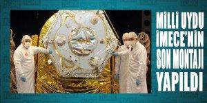 Son montajı yapılan Milli Uydu İMECE'nin testleri başlıyor