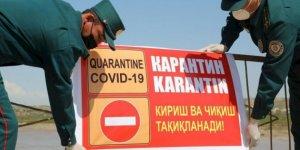 Özbekistan'da corona vaka sayısı 4 bini aştı