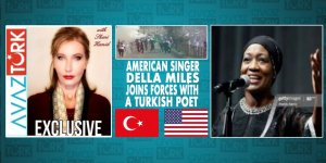 AMERICAN SINGER DELLA MILES JOINS FORCES WITH a TURKISH POET!