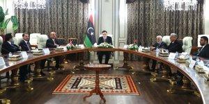 Türk heyeti Libya'da Ulusal Mutabakat Hükümeti Konseyi Başkanı Sarrac ile görüştü
