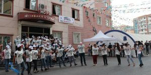 HDP'li gruptan Diyarbakır annelerine hakaret gibi etkinlik
