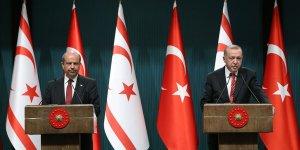 Cumhurbaşkanı Erdoğan, KKTC Başbakanı Ersin Tatar İle Telefonda Görüştü