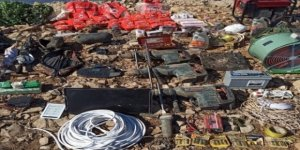 MSB: Pençe-kaplan Operasyonu'nda Çok Sayıda Silah Ve Mühimmat Ele Geçirildi