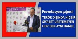 Köşeye sıkışan HDP'den aynı ucuz çağrı!