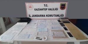 Gaziantep'te Tefeci Operasyonunda 4 Şüpheli Gözaltına Alındı