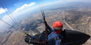 8 Saat 15 Dakika Havada Kalarak Çorum'dan Konya'ya Yamaç Paraşütü İle Uçtu
