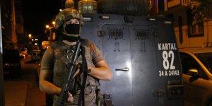 İstanbul'da terör örgütlerine yönelik operasyonlar düzenlendi!
