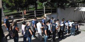 Gaziantep'te terör örgütüne yönelik operasyonlarda 9 tutuklama!