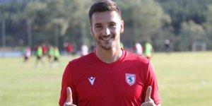 Yılport Samsunspor'un yeni transferi Vukan Savicevic ilk antrenmanına çıktı!