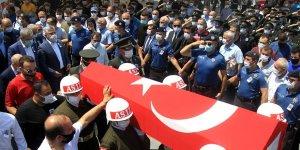 Mersin şehidi Caner Mayendağı Samsun'da son yolculuğuna uğurlandı