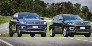 Jeep'in Compass modelinin yeni versiyonları satışa sunuldu!