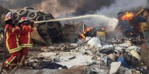 Beyrut'ta OHAL ilan edildi: 100 can kaybı, 4 bine yakın yaralı