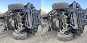 Hakkari'den acı haber! Zırhlı araç devrildi: 2 şehit