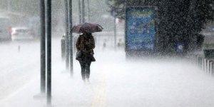 Meteorolojiden o illere gök gürültülü sağanak yağmur uyarısı