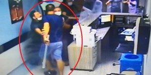 Hastanede güvenlik görevlisi ve doktora saldırı