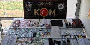 Adana'da tefecilik operasyonu! 19 kişi gözaltında