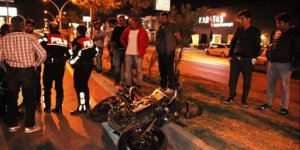 Bodrum'da feci motosiklet kazası!